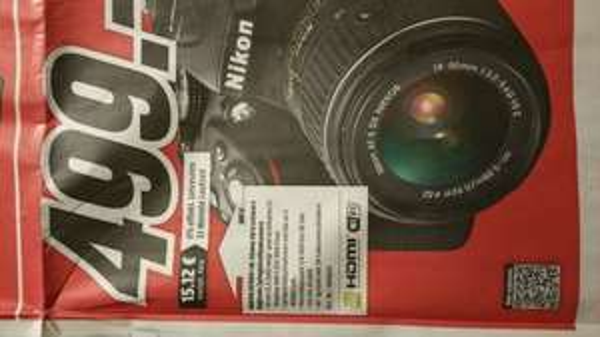 [Lokal Wuppertal] Nikon D5300 + 18-55mm VRII bei MediaMarkt