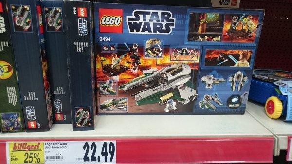 [Lokal Ravensburg] Kaufland:  Lego Star Wars Anakin's Jedi Interceptor (9494) und A-Wing Starfighter (75003)