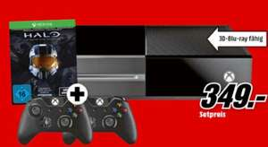 Media Markt: Xbox One 500GB + extra Wireless Controller + Halo - The Master Chief Collection für 349€