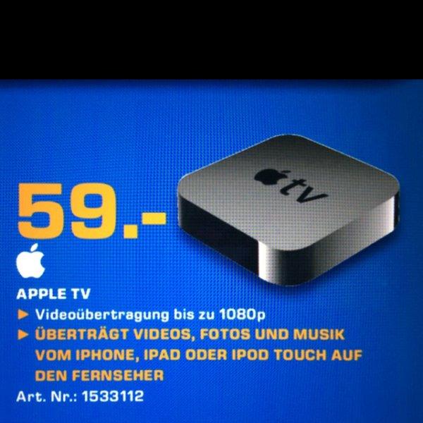 Apple TV [lokal] @SATURN.STUTTGART