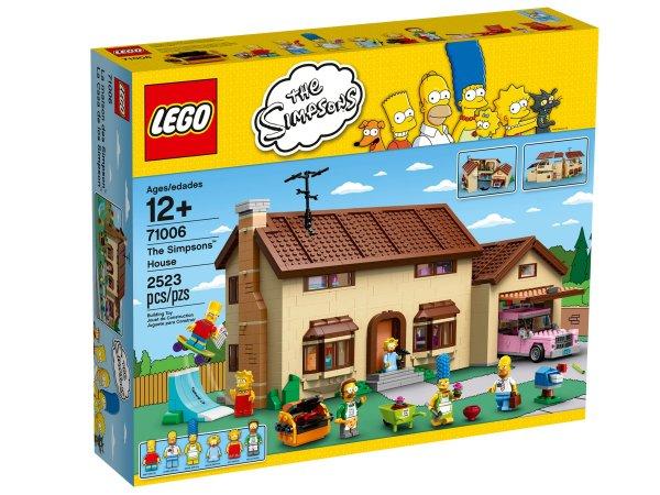 (Toys 'R' Us) Lego 71006 Simpsons Haus für 159,99€ durch 20% Rabatt auf Lego