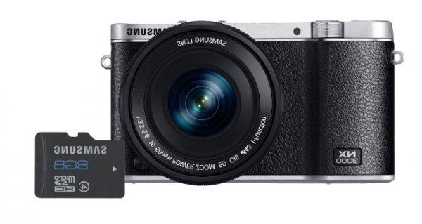 [Mediamarkt] SAMSUNG NX 3000 + 8GB Speicherkarte