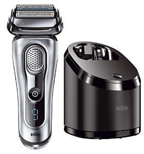 [Amazon] Braun Series 9 9090cc elektrischer Rasierer mit Reiseetui + 10 Reinigungskartuschen für 200€ = 25% Ersparnis