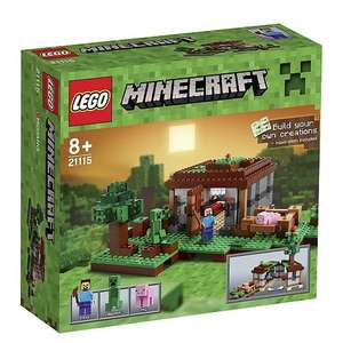 """Toys""""R""""Us - LEGO Minecraft - 21115 Steve's Haus für 24,94 € durch 20 % Aktion und PaypalGutschein + evtl. 3 % Qipu"""