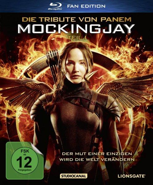 [Lokal Medimax Teltow und Pankow]  Die Tribute von Panem - Mockingjay Teil 1 (Fanedition) [Blu-ray]