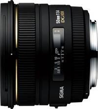 Sigma 50 mm F1,4 EX DG HSM für Nikon Standardobjektiv