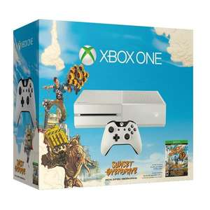 Microsoft Xbox One 500GB (weiß) + Sunset Overdrive Special Edition für 304,50€inkl. VSK @7rabbits