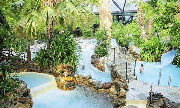 Center Parcs Het Heijderbos: Eintritt in Aqua-Park u. Jungle-Dom ab 8,50€ @Groupon