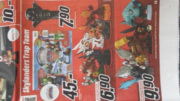 Skylander Masters(9,90)und Einzelfiguren(6,90) im Angebot Mediamarkt