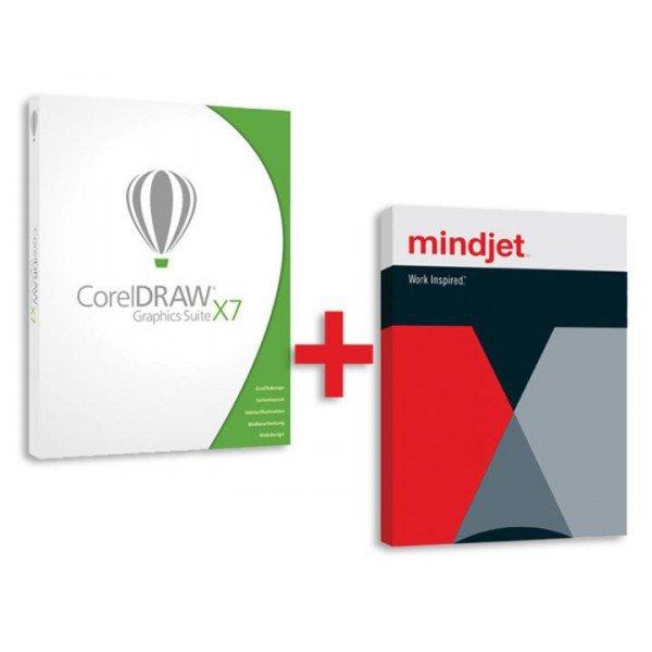 CorelDraw X7 inkl. MindManager für 49,90 € [Für Schüler, Studenten und Lehrer]