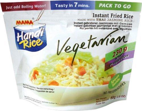Amazon Prime : Mama Gebratener Instant Jasminreis Vegetarisch, 10er Pack (10 x 80 g) Nur 8,18 €