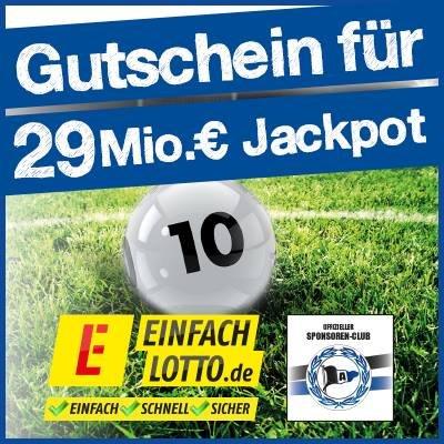 2 Gratis Lotto Felder bei Einfachlotto.de (Neukunden)