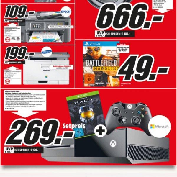 Xbox One + Halo für 269€ Media Markt Ludwigshafen