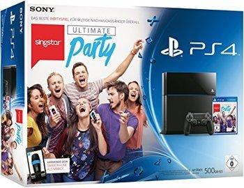 [ LOKAL Saturn Hagen ( NRW ) ] Playstation 4 500 GB Black + Singstar Ultimate Party