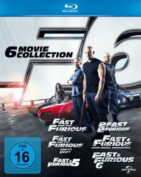 [Expert/Tevi] Fast & Furious 1-6 Blu-Ray