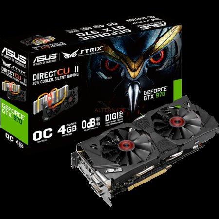 ASUS GeForce GTX 970 Strix 4GB inkl. The Witcher 3