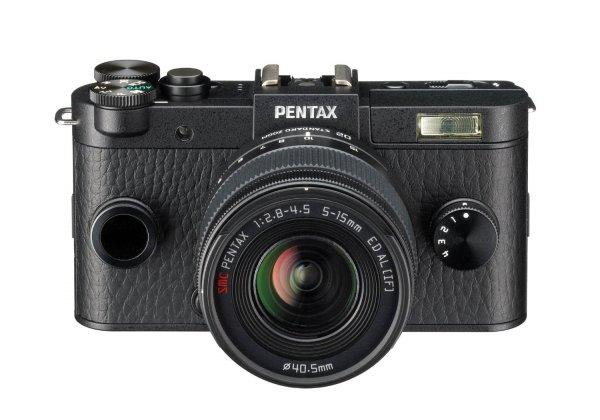Pentax Q-S1 Systemkamera Kit inkl. 5-15 mm Objektiv schwarz für 280,98 € @Amazon.fr