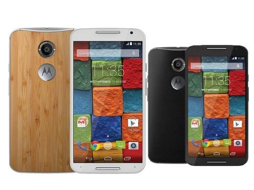 Motorola Moto X (2. Gen.) Black Leather oder Bamboo.  ibood.de