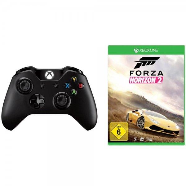 [ebay] Microsoft Xbox One Wireless Controller + Forza Horizon 2 für zusammen 69,- EUR
