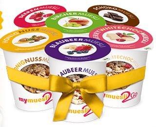 MyMüsli 6er Probierpaket für 3,90€