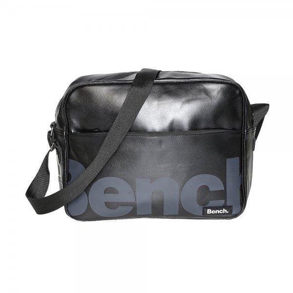 "BENCH.™ - Messenger Bag/Umhängetasche ""Echo Despatch"" (Hooch Black) ab €18,60 [@Bench.de]"
