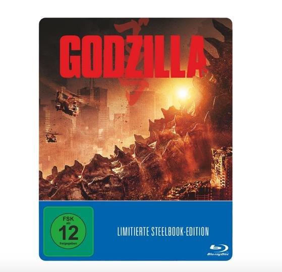 Godzilla (Steelbook) - ( Blu-ray) für 8,99€ @ Saturn Bundesweit