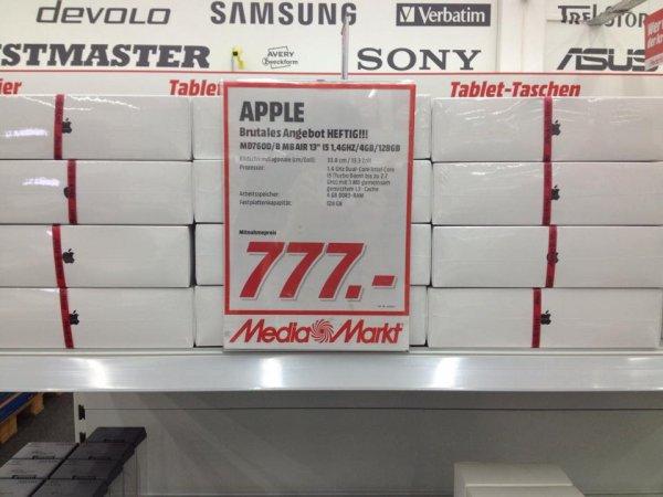 "[Lokal] Macbook Air 13"" 2014 4GB / 128GB Media Markt Aalen"