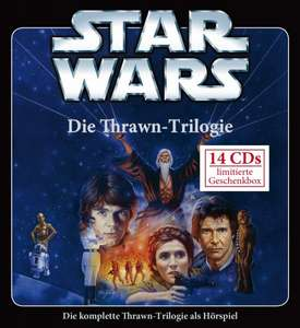 STAR WARS - Die Thrawn Trilogie Box Set 14 Audio CDs weltexklusives Hörspiel [Amazon.de]