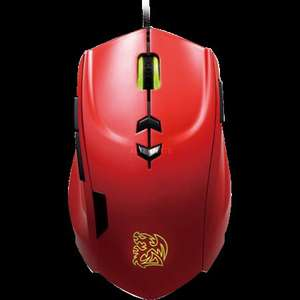 "Tt eSPORTS Maus 40 Makros 5600dpi ""Theron"" - Farben: Metallic Yellow oder Blazing Red"