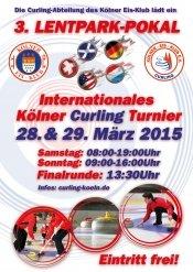 Köln: Curling-Turnier 28. & 29. März im Lentpark - Eintritt frei