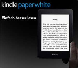 20€ Amazon Aktionsgutschein Gratis bei Kindle Paperwhite Kauf