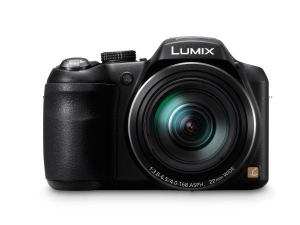 [3% Qipu + 5€ Gutschein] Panasonic DMC-LZ40 Digitalkamera in schwarz für 169,95€ frei Haus @DC