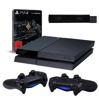 [Amazon am 29.03.2015] PlayStation 4 + 2. Controller + Cam + The Order: 1886 für 404€