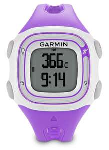 Garmin Forerunner 10 GPS Laufuhr violett für 74,17 € @Amazon.co.uk