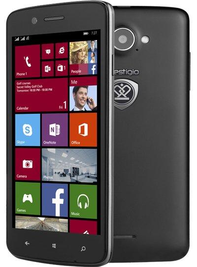 [NBB] Prestigio Multiphone 8500 Duo Windows Phone Dual-SIM (1,2 GHz x 4, 5'' HD IPS, 1GB RAM, 8GB intern) für 145€