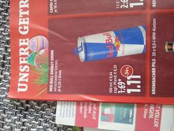 Red Bull 0,25 l Dose