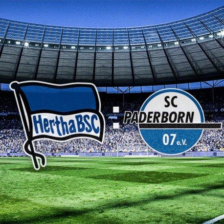 Hertha BSC gegen SC Paderborn 07 (2-für-1 Ticketaktion)