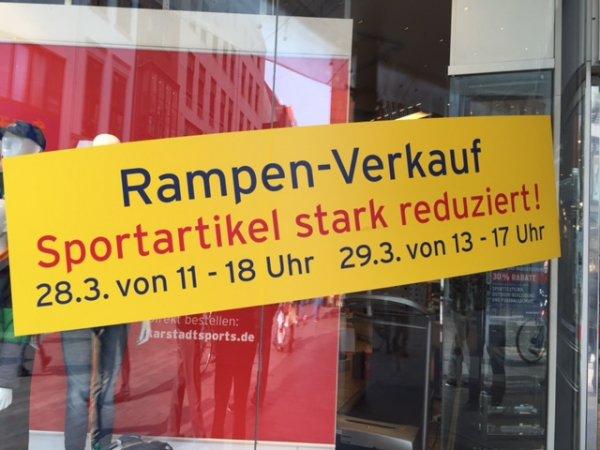 [Lokal Bremen] Karstadt Sport Rampenverkauf