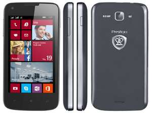 [Amazon.fr] Prestigio Multiphone 8400 Duo Windows Phone Dual-SIM für 78€