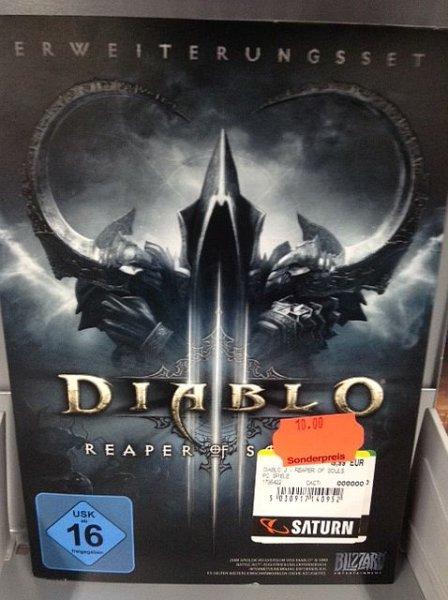 [LOKAL München] Diablo 3 - Reaper of Souls [PC] für 10€ bei Saturn im PEP