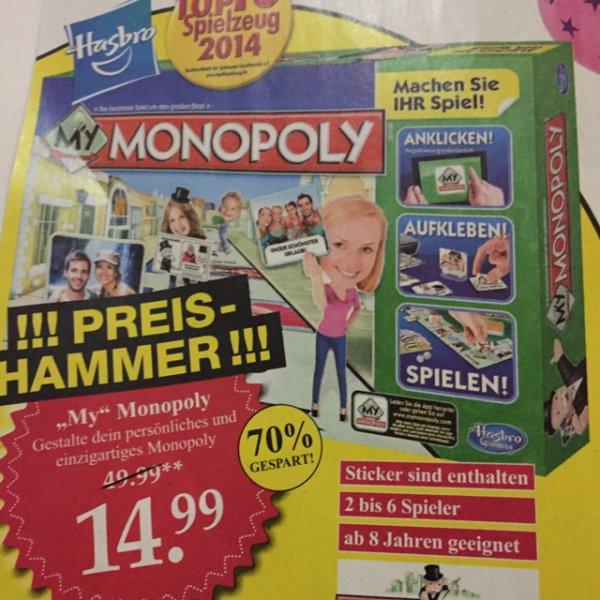 """My"" Monopoly für 14,99€ bei Woolworth"