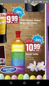 Hit Absolut Vodka Sonderedition 10,99€