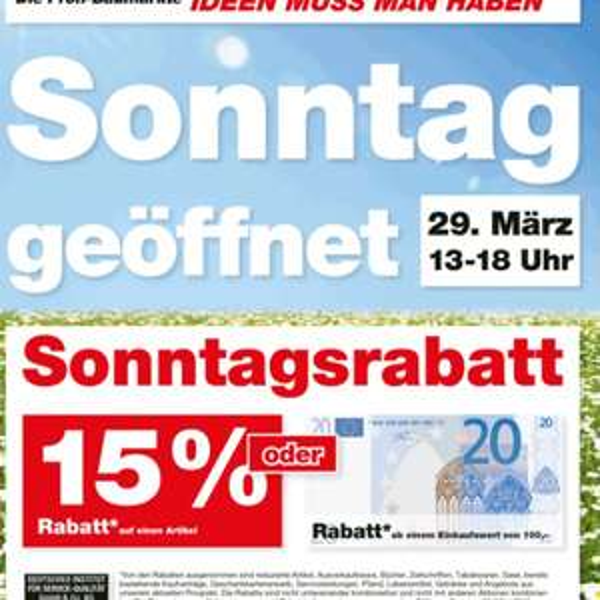 Hellweg lüdenscheid (Lokal) 15% oder 20 Euro Rabatt ab 100 Euro warenwert