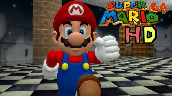 """""""Super Mario 64 HD"""" per Browser spielen (erstes Level)"""