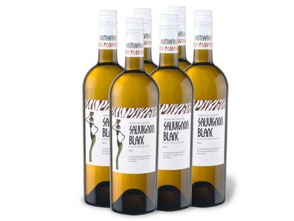 [3% Qipu] 6 Flaschen Vineris South Africa Sauvignon Blanc Weißwein für 11,97€ zzgl. 4,95€ @Lidl Online