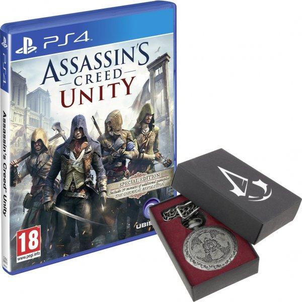 Assassins Creed Unity - Pocket Watch Bundle PS4 Amazon UK EUR 39,73