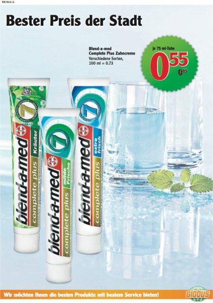 [Lokal] Globus Wiesbaden: Blend-a-med Complete Plus Zahncreme 75 ml