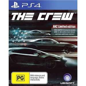 The Crew Limited Edition PS4 Pegi