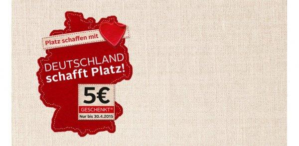 OTTO: Deutschland schafft Platz-Kleiderspenden-Sonderaktion! 5€-Gutschein geschenkt