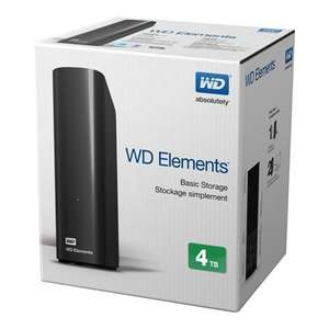 WD Elements Desktop 4TB @ [Lokal] Saturn Offenbach/Main für 99.-